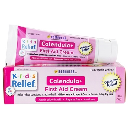 DROPPED: Homeolab USA - Kids Relief Calendula+ First Aid Cream - 1.76 oz. CLEARANCED PRICED