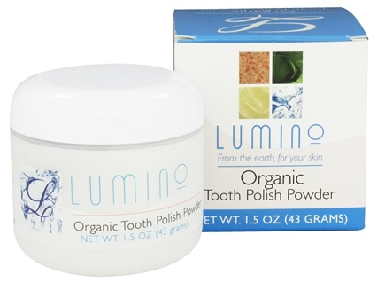 DROPPED: Lumino - Organic Tooth Polish Powder - 1.5 oz.