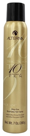 DROPPED: Alterna - Ten Ultra Fine Brushable Hair Spray - 7 oz. CLEARANCE PRICED