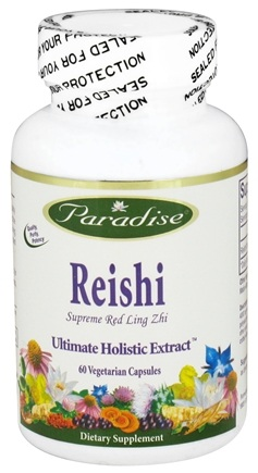 DROPPED: Paradise Herbs - Reishi Supreme Red Ling Zhi - 60 Vegetarian Capsules CLEARANCE PRICED