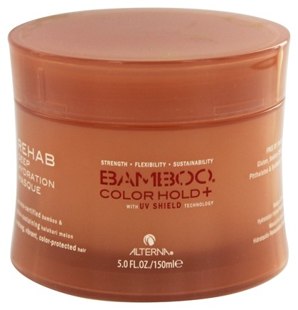 DROPPED: Alterna - Bamboo Color Hold+ Rehab Deep Hydration Hair Masque - 5 oz. CLEARANCE PRICED