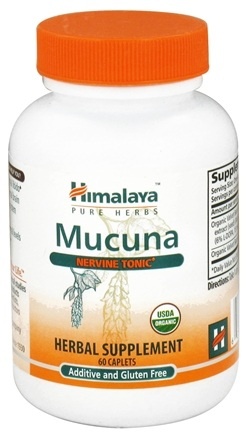 DROPPED: Himalaya Herbal Healthcare - Mucuna Nervine Tonic - 60 Caplets CLEARANCE PRICED