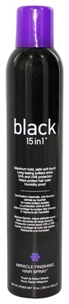 DROPPED: Black 15 in 1 - Miracle Finishing Hair Spray - 10 oz. CLEARANCE PRICED