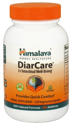 DROPPED: Himalaya Herbal Healthcare - DiarCare for Intestinal Well-Being - 120 Vegetarian Capsules CLEARANCED PRICED