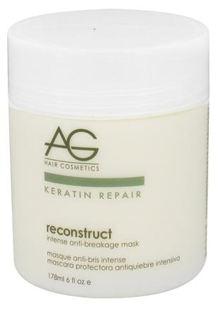 DROPPED: AG Hair - Keratin Repair Reconstruct Intense Anti-Breakage Hair Mask - 6 oz. CLEARANCE PRICED