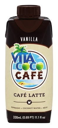 Vita Coco - Cafe Latte Coconut Water Vanilla - 11.1 oz.