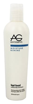 DROPPED: AG Hair - Moisture & Shine Fast Food Sulfate-Free Shampoo - 8 oz. CLEARANCE PRICED