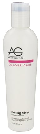 DROPPED: AG Hair - Colour Care Sterling Silver Toning Shampoo - 8 oz. CLEARANCE PRICED