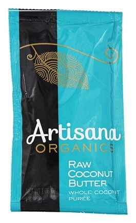 Artisana - 100% Organic Raw Coconut Butter Squeeze Pack - 1.06 oz.