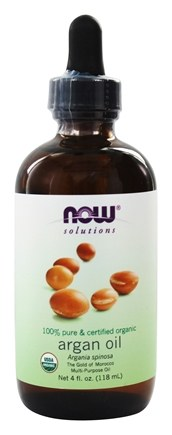 NOW Foods - 100% Pure and Certified Organic Argan Oil - 4 oz.
