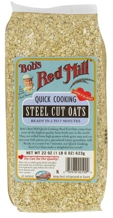 DROPPED: Bob's Red Mill - Quick Cooking Steel Cut Oats - 22 oz. CLEARANCE PRICED
