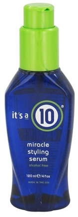 DROPPED: It's a 10 - Miracle Hair Styling Serum Alcohol Free - 4 oz. CLEARANCE PRICED