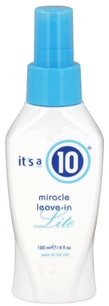 DROPPED: It's a 10 - Miracle Leave-In Lite Hair Spray - 4 oz. CLEARANCED PRICED