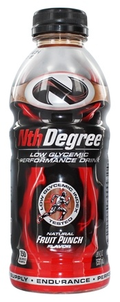 DROPPED: Nth Degree - Low Glycemic Performance Drink RTD Fruit Punch - 20 oz. CLEARANCE PRICED