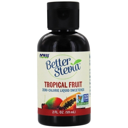 DROPPED: NOW Foods - Better Stevia Liquid Sweetener Tropical Fruit - 2 oz.