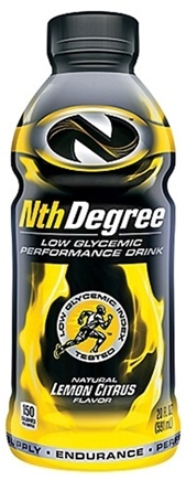 DROPPED: Nth Degree - Low Glycemic Performance Drink RTD Lemon Citrus - 20 oz. CLEARANCE PRICED