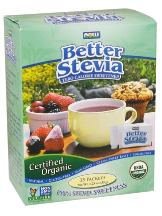 NOW Foods - Better Stevia Organic - 35 Packet(s)