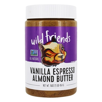Wild Friends - All Natural Almond Butter Vanilla Espresso - 16 oz.