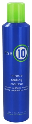 DROPPED: It's a 10 - Miracle Hair Styling Mousse - 9 oz. CLEARANCE PRICED