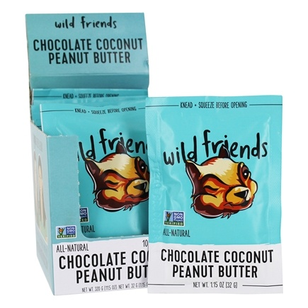 Wild Friends - All Natural Peanut Butter Chocolate Coconut - 1.15 oz.