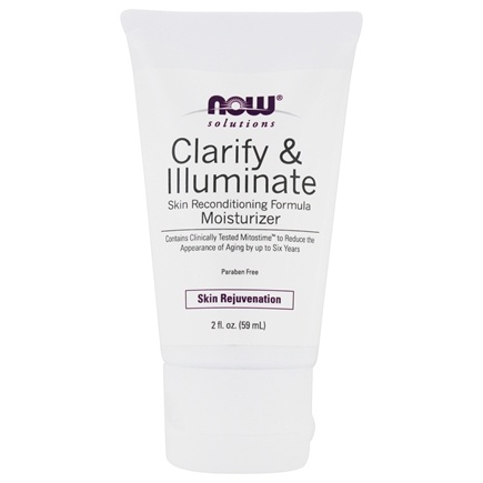 DROPPED: NOW Foods - Clarify & Illuminate Age Transformation Moisturizer - 2 oz.