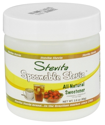 DROPPED: Stevita - Spoonable Stevia All Natural Sweetener Powder - 2.8 oz.