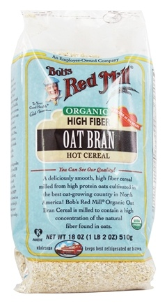 Bob's Red Mill - Organic Oat Bran Cereal - 18 oz.