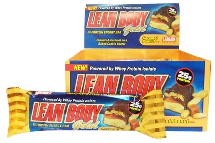 DROPPED: Labrada - Lean Body Gold Bar Caramel Peanut - 85 Grams