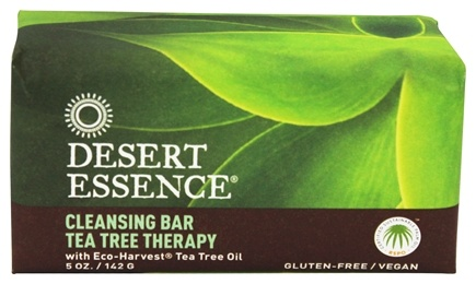 Desert Essence - Tea Tree Therapy Cleansing Bar Soap - 5 oz. LUCKY PRICE