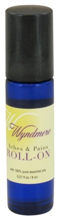 DROPPED: Wyndmere Naturals - Aromatherapy Roll-On Aches & Pains - 0.27 oz.