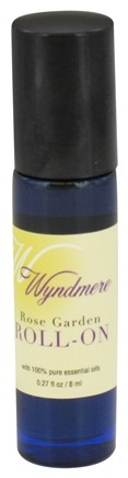 Wyndmere Naturals - Aromatherapy Roll-On Rose Garden - 0.27 oz.