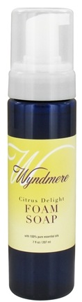 DROPPED: Wyndmere Naturals - Aromatherapy Foam Soap Citrus Delight - 7 oz. CLEARANCED PRICED