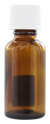 Wyndmere Naturals - Amber Glass Bottle with Reducer and Childproof Cap - 1 oz.