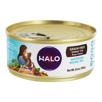 DROPPED: Halo Purely for Pets - Spot's Pate For Cats Ground Whitefish - 12 Can(s)