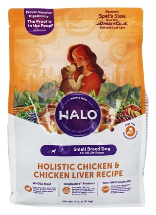 Halo Purely for Pets - Spot's Stew For Dogs For Toy & Small Breeds Wholesome Chicken Recipe - 4 lbs.