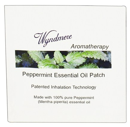 DROPPED: Wyndmere Naturals - Aromatherapy Essential Oil Patch Peppermint - 1 Patch(es) CLEARANCED PRICED