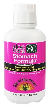 DROPPED: Lily Of The Desert - Aloe Vera 80 Stomach Formula - 16 oz.