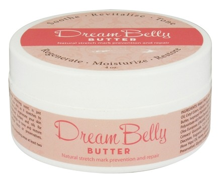 DROPPED: Fairhaven Health - Dream Belly Butter Natural Stretch Mark Prevention & Repair - 4 oz. CLEARANCE PRICED