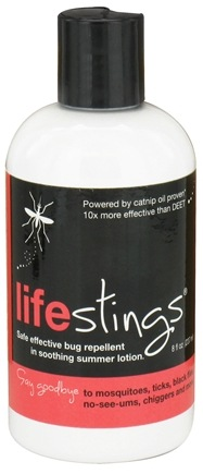 DROPPED: Duggan Sisters - LifeStings Safe Effective Bug Repellent in Soothing Summer Lotion - 8 oz. CLEARANCED PRICED