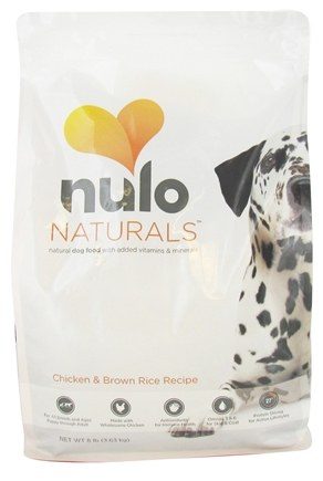 DROPPED: Nulo Naturals - Natural Dog Food Chicken & Brown Rice Recipe - 8 lbs. CLEARANCE PRICED