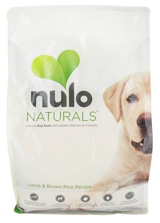 DROPPED: Nulo Naturals - Natural Dog Food Lamb & Brown Rice Recipe - 8 lbs. CLEARANCE PRICED