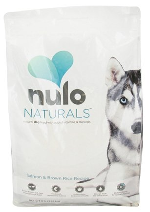 DROPPED: Nulo Naturals - Natural Dog Food Salmon & Brown Rice Recipe - 8 lbs.