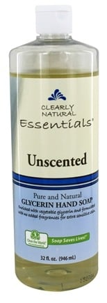 Clearly Natural - Liquid Glycerine Soap Refill Unscented - 32 oz.