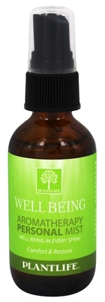 DROPPED: Plantlife Natural Body Care - Aromatherapy Personal Mist Well Being - 2 oz. CLEARANCE PRICED