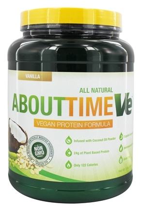 DROPPED: About Time - VE Vegan Protein Formula Vanilla - 2 lbs.