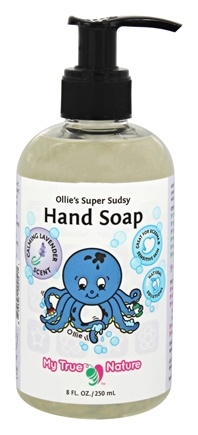 My True Nature - Ollie's Super Sudsy Hand Soap Lavender - 8 oz.