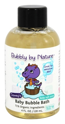 My True Nature - Dewey's Baby Bubble Bath Baby Soft - 4 oz.