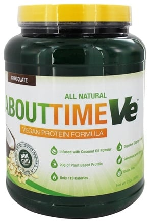 DROPPED: About Time - VE Vegan Protein Formula Chocolate - 2 lbs.