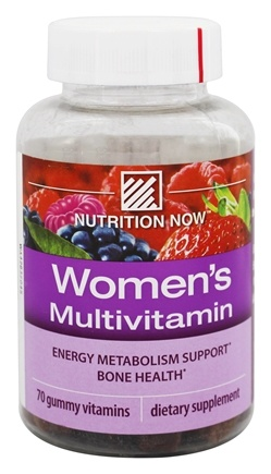 Nutrition Now - Women's Gummy Vitamins Mixed Berry - 70 Gummies