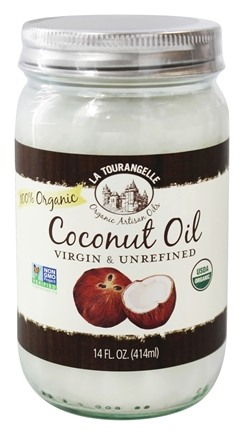 La Tourangelle - Virgin Organic Coconut Oil - 14 oz.